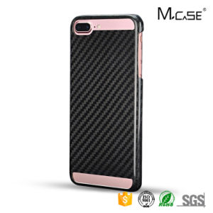 for Apple Iphonec Carbon Fiber Back Cover Fashionable Simple Design Case for iPhone 7 Plus pictures & photos