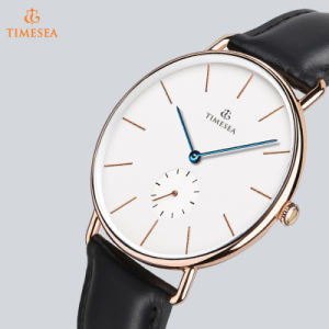 Mens Unique Fashion Quartz Analog Waterproof Watch with Stainless Steel Case 72704 pictures & photos