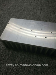 Customized Machined Mill Finish Aluminium Extruded Heatsink pictures & photos
