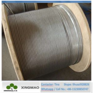 Anti Twisted Steel Wire Rope Hexagon 12 Strands 18 Strands/Galvanized Steel Wire Rope (XM070) pictures & photos
