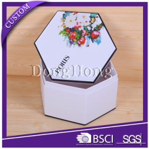 Luxury Design Tube Cardboard Gift Flower Packaging Box pictures & photos