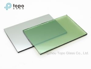 4mm-10mm Dark Green / Natural Green Coated Reflective Windows Glass (R-DG) pictures & photos