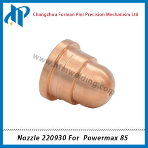 Nozzle 220930 for Power Max 85 Plasma Cutting Torch Consumables 45A/65A/85A pictures & photos