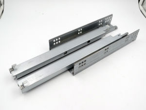 Full Extension Under Mounting Drawer Slide Concealed Soft Closing Slides pictures & photos