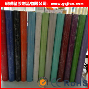 Low Flammability Solid Color High Glossy PVC Decorative pictures & photos