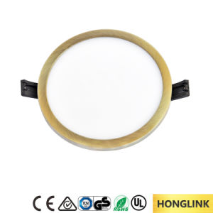 8W/16W/22W/30W Ultra-Thin Round Flat Panel LED Downlight pictures & photos