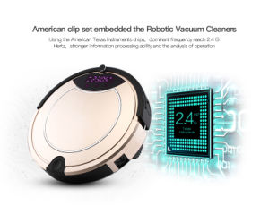 2016 Good Quality Low Price Smart Vacuum Cleaning Robot Factory pictures & photos