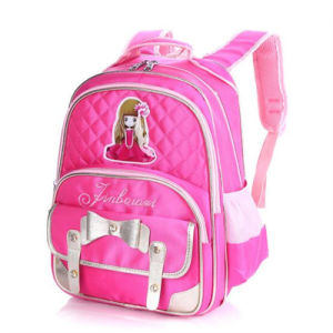 Korean Version of The New 3-6 Grade Children Burden Breathable Fashion Backpack (GB#6021) pictures & photos
