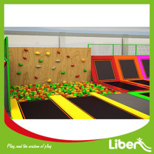 2017 New Kids Indoor Trampoline Jumping Foam Pit pictures & photos