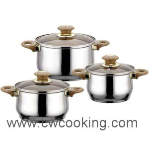 Cooker-6PCS Stainless Steel Cookwar Set pictures & photos