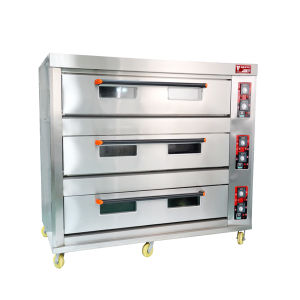 3 Deck 12 Trays Commercial Electric Oven Industrial Oven Manufacturers pictures & photos