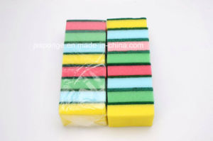 Daily Use Cleaning Sponge Scouring Pad pictures & photos