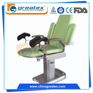Hospital Equipment Leg Holder Noiseless Electric Motor Gynecology Operation Chair pictures & photos