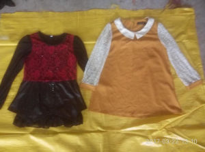 Hot Sale in Ireland Selling for China Ladies Long Sleeve T Shirt Secondhand Clothes pictures & photos