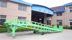 on Sales 10tons Mobile Hydrauic Loading Ramp (DCQY8-0.8) pictures & photos