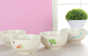 High Quality Eco Bamboo Fiber Kitchenware Bowl (YK-B3019) pictures & photos