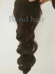 Human Hair Ponytail, Hair Accessories Ponytail pictures & photos