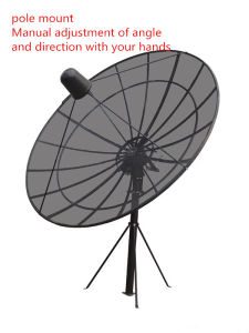 C Band Satellite Aluminium Mesh Dish Outdoor Parabolic TV Antenna pictures & photos