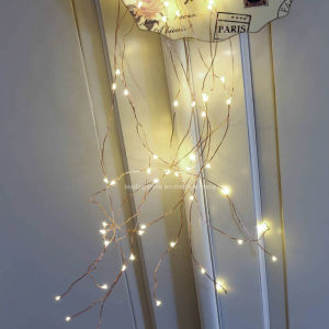 240 LED Warm White Multi Branch String Starry Fairy Light Flexible Copper Wire for Wedding pictures & photos