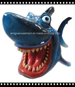 Dynamic Color Painting Fiberglass Toy for Party Decoration pictures & photos
