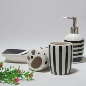 Tooth Brush Holder, Tooth Cup, Soap Dispen, Bathroom Accessories (F205) pictures & photos