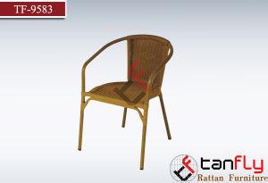 Metal Frame Cheap Rattan Coffee Chair pictures & photos
