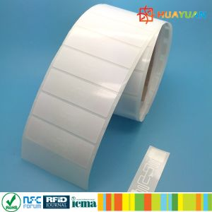 EPC pre-serialization Higgs3 ALN9630 UHF RFID paper label pictures & photos
