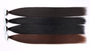 """Skin Weft Straight Brazilian Tape in Extension 20PCS Double Sided Virgin Hair 16""""-24"""" pictures & photos"""