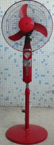 16 Inches 12V DC Stand Fan Diamond Deco pictures & photos