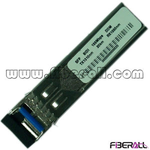 155Mbps Fiber Optical SFP Converter Bidi 20km LC Ddm pictures & photos