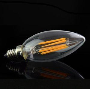 Factory Wholesale Filament Bulb Lamp 4W E14 LED Candle Light pictures & photos
