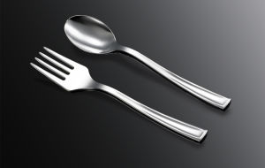 Silver Coated Cutlery Disposable Cutlery /Cc-02 pictures & photos