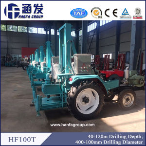 Diesel Borehole Rotary Tractor Mounted Rotary Drilling Rig Machine pictures & photos