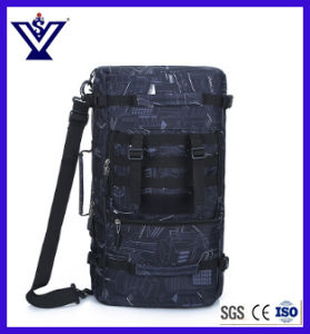 Fashionable Deep Blue Camouflage Military Climbing Traveling Backpack Bag (SYSG-1861) pictures & photos