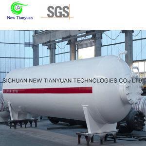 Cryogenic Liquid Medium Tank Container Semi Trailer pictures & photos
