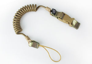 Pistol Lanyard Belt Loop Tactical Airsoft Weapon Gun Slings Cl13-0043 pictures & photos