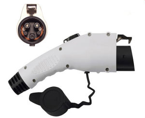SAE J1772 EV Plug Male Connector Coupler American Standard AC 32A