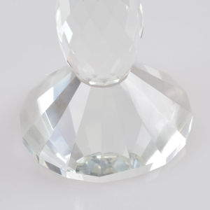 Clear Color Crystal Glass Candle Holder for Decoration pictures & photos