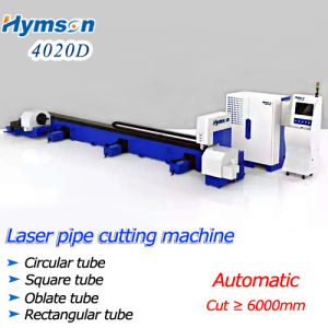CNC Machinery Laser Pipe Cutting for Metal Sheet (HF6050P) Longest Cut >6000mm pictures & photos