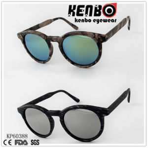 Round Frame Full Plastic Special Patten Over The Full Sunglasses Kp60388 Fashion Sunglasses pictures & photos