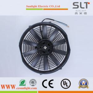 12V 80W Plastic Mini Axial Condenser Cool Fan for Transport pictures & photos