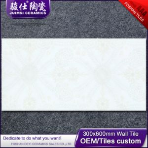 Foshan  300*600  House Plans  Cement Flower Design Wall Tile