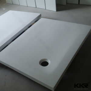 Man Made Stone Resin Artificial Marble Bathroom Shower Tray (SB1705095) pictures & photos