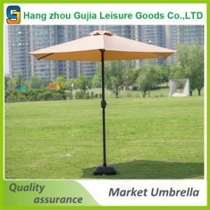 2.7m Steel Waterproof Customized Convenient Straight Market Umbrellas