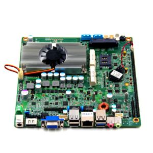 Piesia Fanless Mainboard Mini Itx J1900 Quad Core 2.4GHz with Mini Pcie Mini SATA SIM Slot pictures & photos
