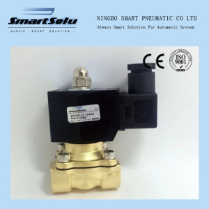 2/2 Way 2W Series Water Brass Direct Acting Solenoid Valve pictures & photos