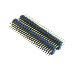 1.27*2.54 Double Plasticle 180 DIP Pin Header pictures & photos