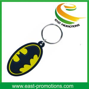 Custom Hot Pattern Soft PVC Plastic Keychain with Logo pictures & photos