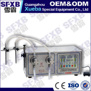 Sf-1-2 Semi-Auto Iwaki Pump Liquid Filling Machine pictures & photos