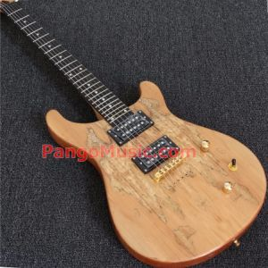 Pango Music Prs Style Electric Guitar with Spalted Maple, Ebony Fretboard (PRS-305) pictures & photos